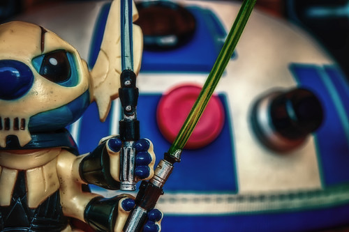 I Don't Recall General Grievous Eating Pickled Eggs by hbmike2000