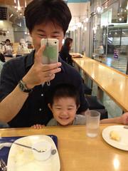 神戸屋キッチンで朝御飯 2013/6