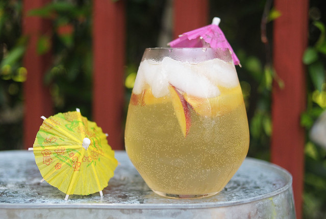 Kaelah Bee Peach White Wine Sangria
