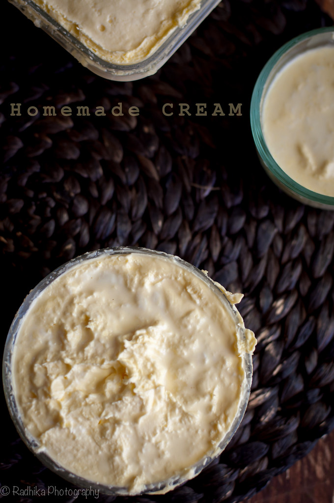 Homemade Cream