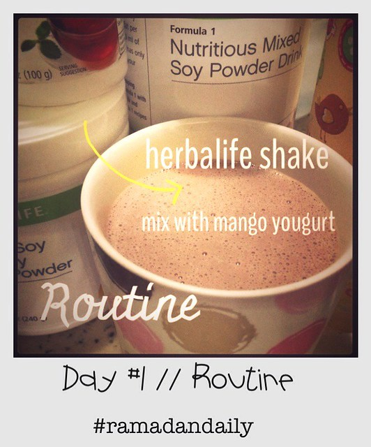 Day #1 : Routine