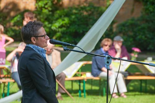 Sommerfest2013 Frau Heinrich, Foto: Michael Glossner