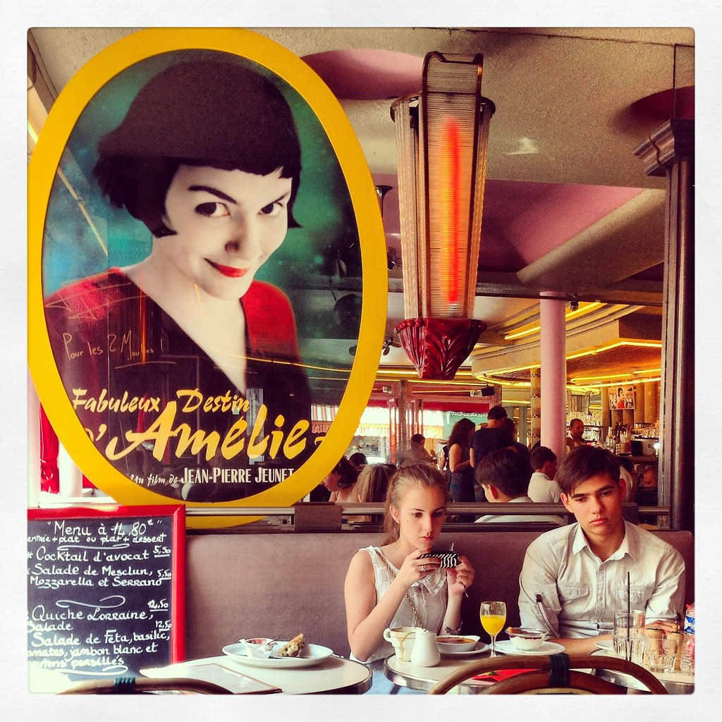 Looking for Amelie [Cafè des 2 moulins]