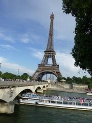 Eifelturm an der Seine