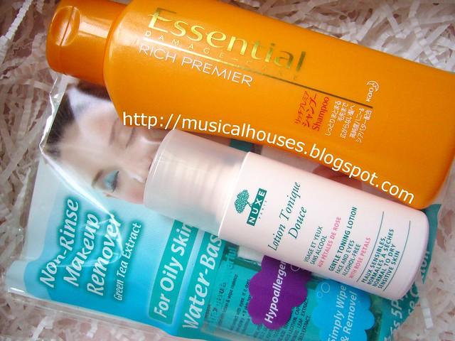 bifesta makeup remover nuxe toner essence shampoo