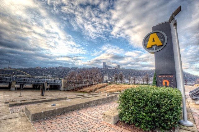 Gate A at Heinz Field HDR