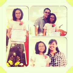 With our little graduate! Congratulations my...