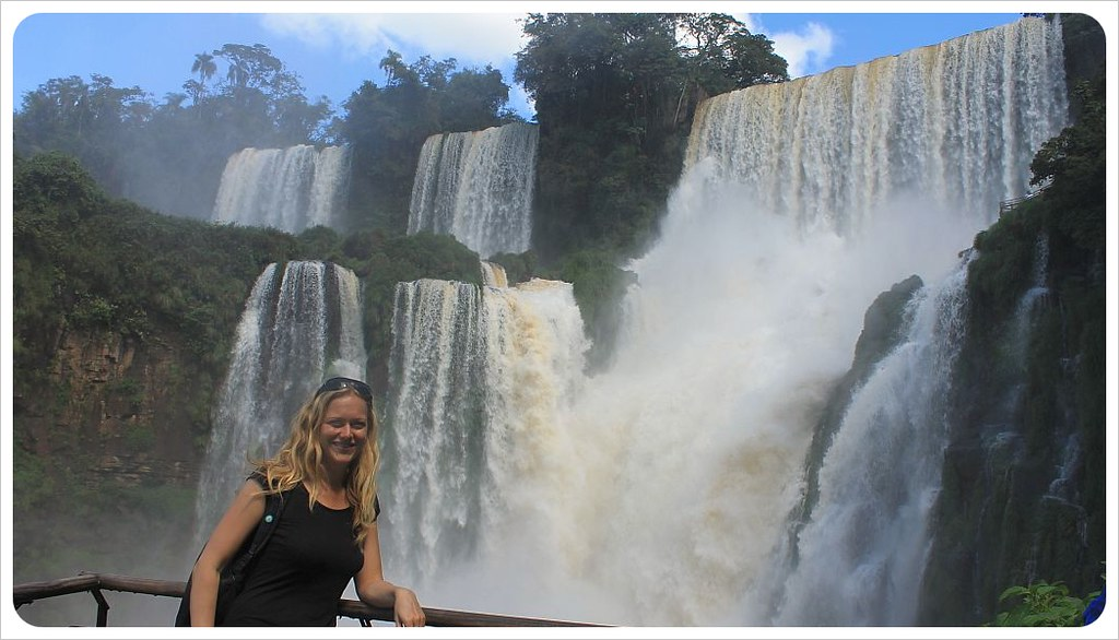 iguazu falls dani