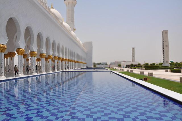 Gran Mezquita Sheikh Zayed, Abu Dhabi, Emiratos Árabes Unidos.