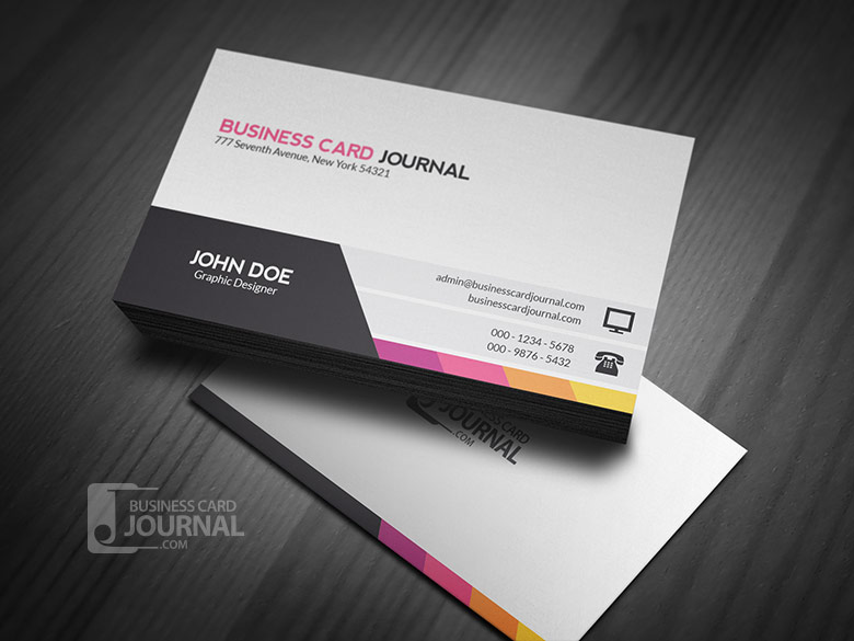Unique Amp Modern Corporate Business Card Template Flickr