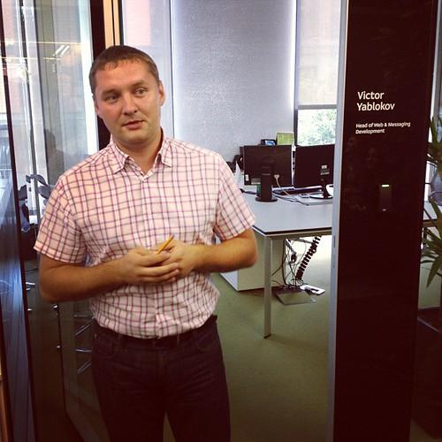 Специалист Яблоков разрабатывает приложения для Андроид. #касперский #москва #moscow #kaspersky