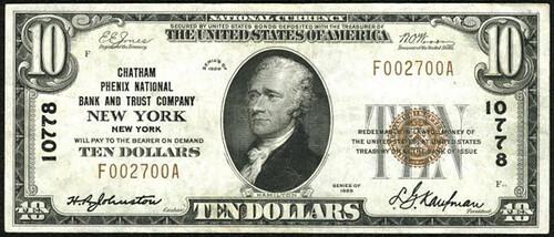 5 Kaufman New York$10