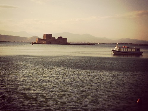 sea castle port wonderful spring view greece 2013 icedteafilter παλαιάπόληναυπλίουnafpliooldcity