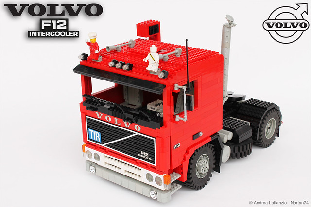 VOLVO F12 INTERCOOLER 1:13 SCALE LEGO® MODEL