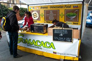 Acklam Village Market - Arepas Guasacaca Food