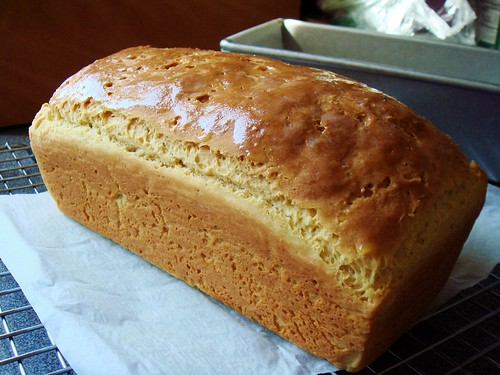 King Arthur Gluten Free Sandwich Bread: Buttered