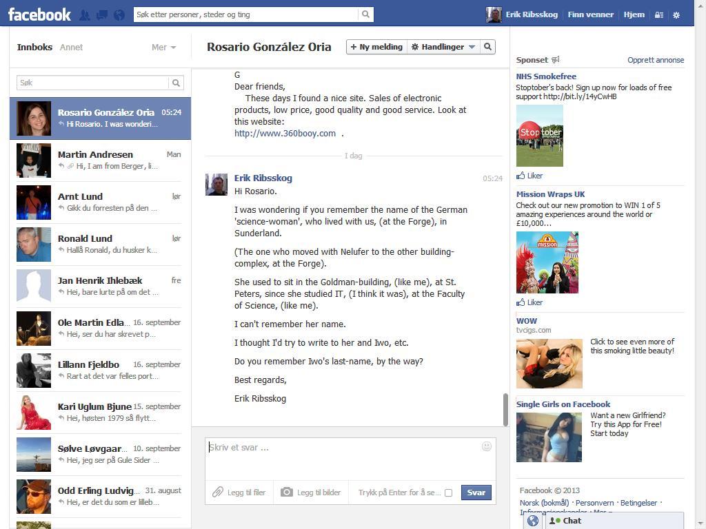 rosario facebook