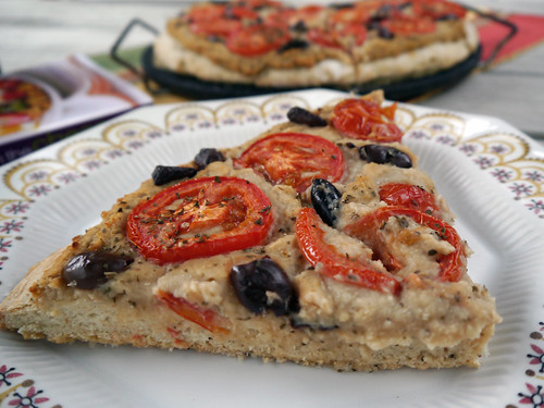 W is for White Bean Pizza [Vegan on the Cheap] (0005)