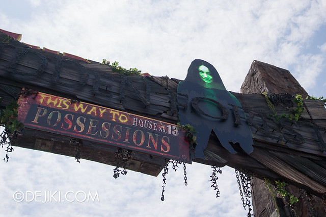 HHN3 Before Dark 2 - Archway to Forbidden Forest