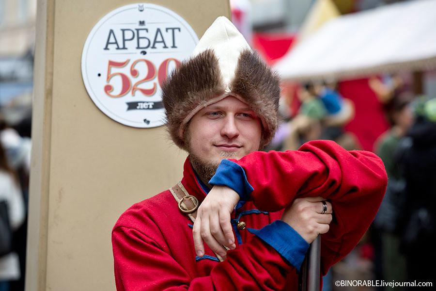 Торжества посященные 520-летию Старого арбата в Москве ©binorable.livejournal.com