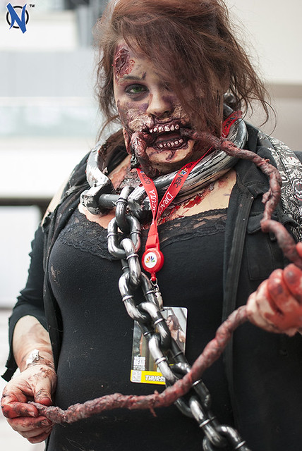 Really Awesome Zombie Make-Up