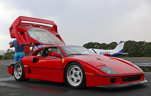Ferrari F40, Montauk airfield