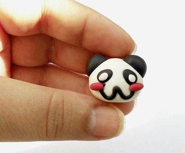 Panda fimo tutorial 13