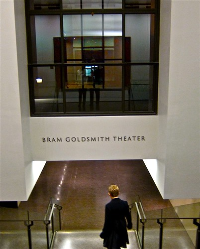 entrance to BG theatre
