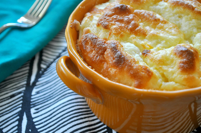 Muenster Cheese Soufflé