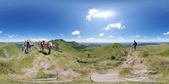 On the way to Puy de Sancy