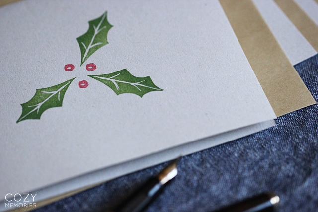 holly cards