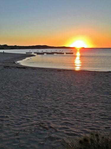 kalbarri westernaustralia wa oz australia murchisonriver sunset sundown dusk nightfall eveninglight beach
