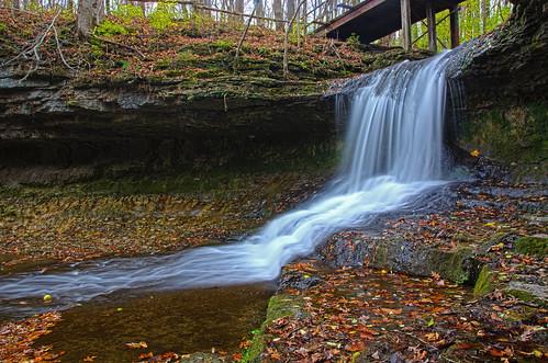 ohio nature water landscape waterfall scenic cascades yellowsprings glenhelen glenhelennaturepreserve