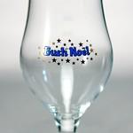 ベルギービール大好き!!【ブッシュ・ド・ノエルの専用グラス】(管理人所有 )