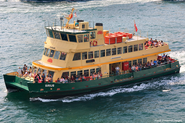 Sirius - First Fleet Class Ferry, In Service Since 1984, Inner Harbour Sydney Ferry, Circular Key, Sydney, NSW