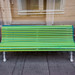 Three Benches Of Different Colours by pni