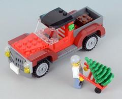 40083 Christmas Tree Truck