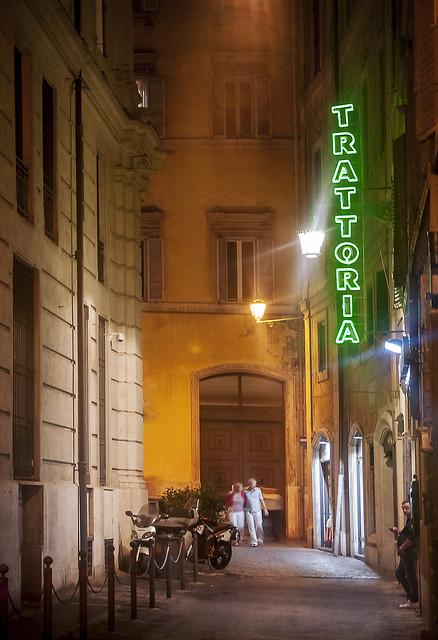 Trattoria in Rome