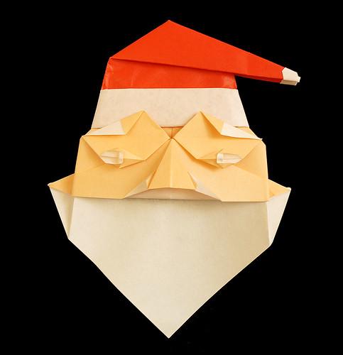 Origami Santa Claus (Mieko Seta)