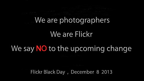 We are photographers , We are Flickr , We are a community , We need CONVIVIALITY