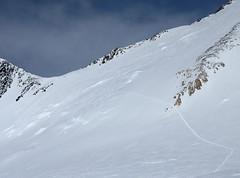 Droga podejścia na Denali Pass z High Camp (5600m)
