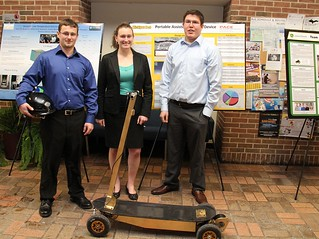 Portable Assisted Mobility Device Team with project