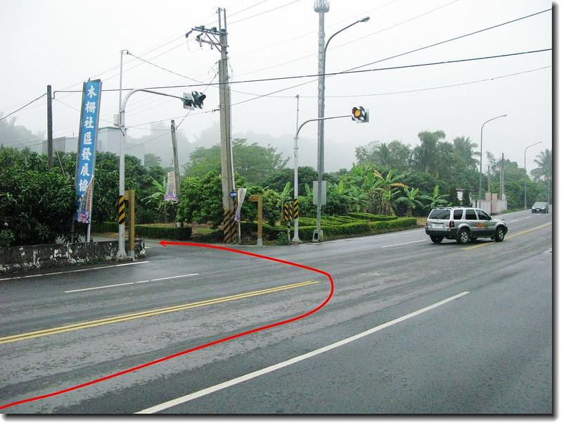 高雄內門中心崙山台3線入口