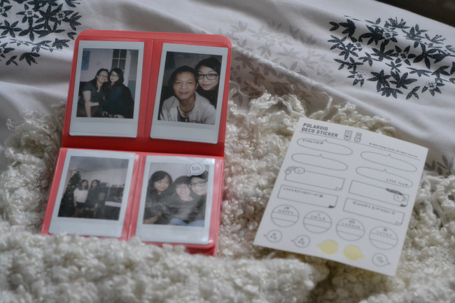 Daisybutter - UK Style and Fashion Blog: instax photo album, fujifilm instax mini 8