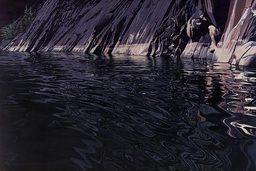 lake canada painting landscape bc cove britishcolumbia waterscape kootenaylake ashcove