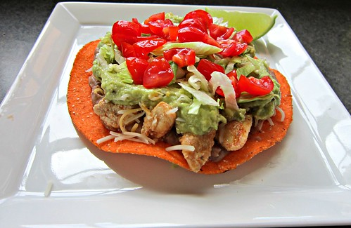 Chipotle Chicken Tostadas (1)