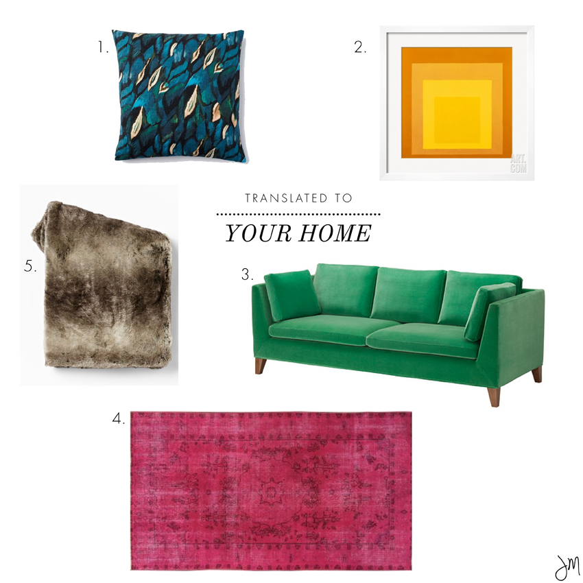 Julip Made color palette get the look for your home