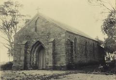 St Stephens Church (first), Willunga, 1901.