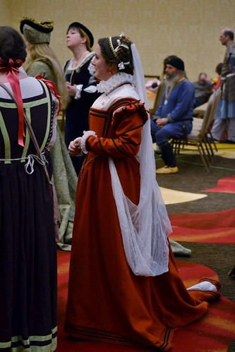 16th century Italian gown  on MorganDonner.com