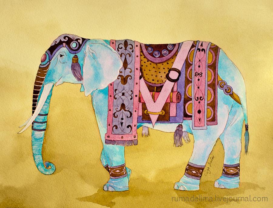 Elephant for a Maharaja